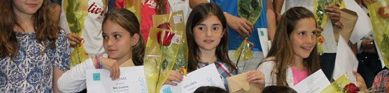 L'Aina López guanya el 23è Jocs Florals de la Federació d'Escoles Cooperatives de Catalunya.