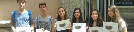 L'alumnat mediador de l'Escola Guinardó participa a la VI Trobada d'alumnat mediador de Barcelona