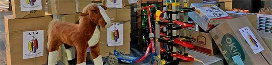 L'AFA col·labora en la recollida de joguines del barri
