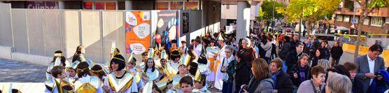 Rua de Carnaval pels carrers del barri